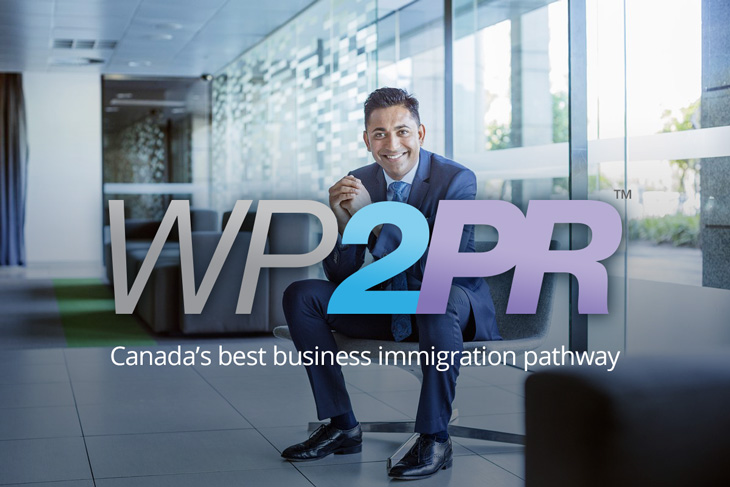 WP2PR Canada business visa image